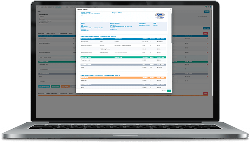 Streamline Your Invoicing Process with IndusTrack Commercial New Construction Contractor Software
