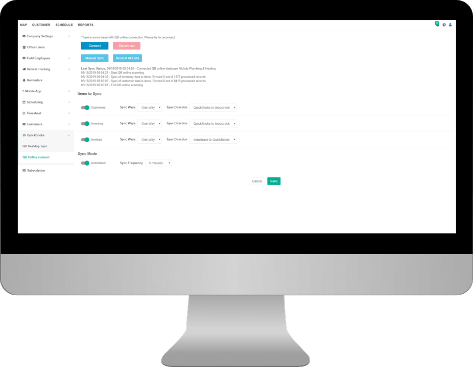 Keep Track of All Your Parts and Warranties with IndusTrack Commercial Service Contractor Software