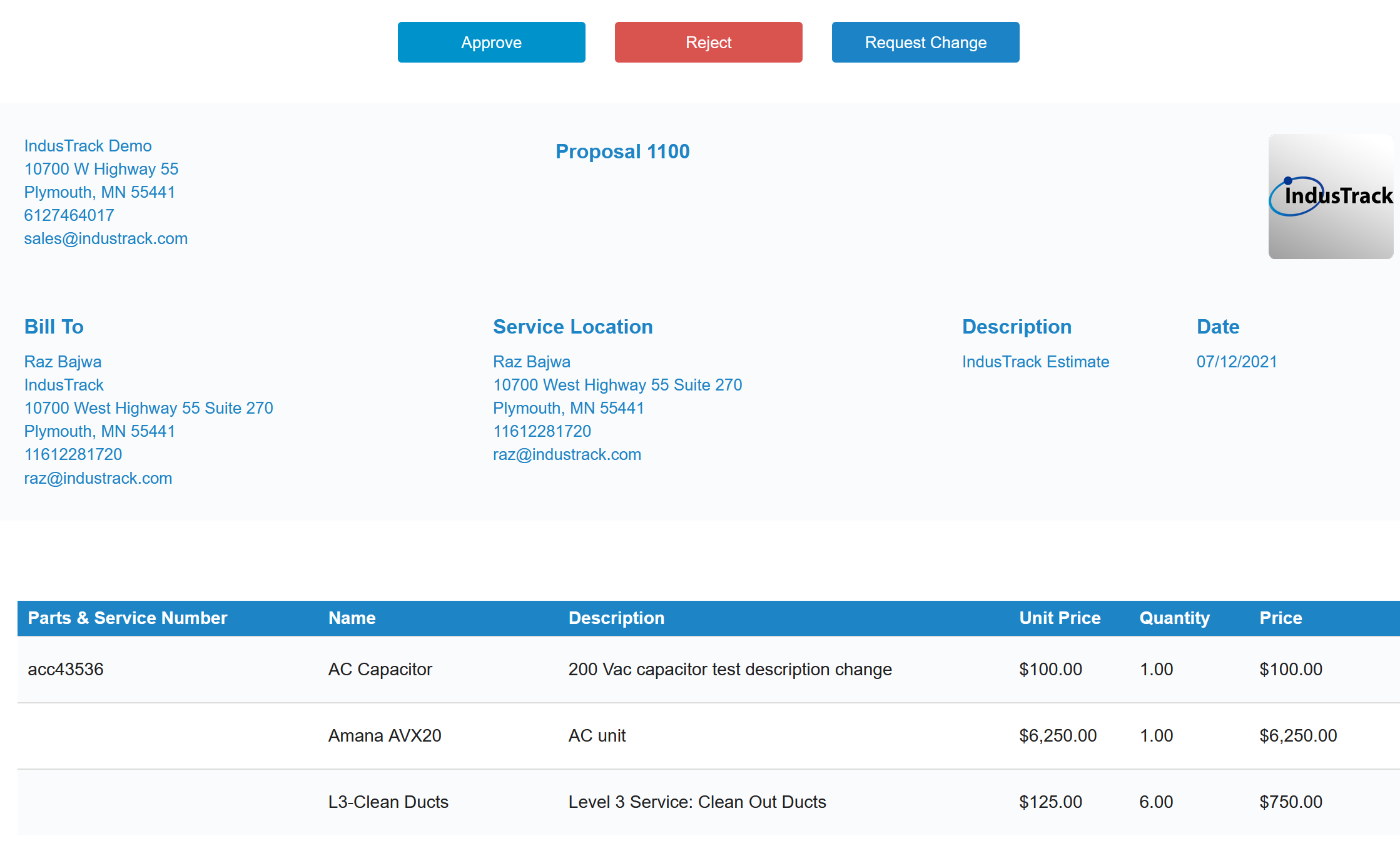 Create Estimates for Customers on Mobile Devices